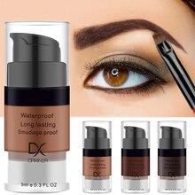 Crème pour sourcils pommade au henné brun noir tatouage teinte Pigment yeux longue durée maquillage professionnel rehausseur de sourcils Gel liquide