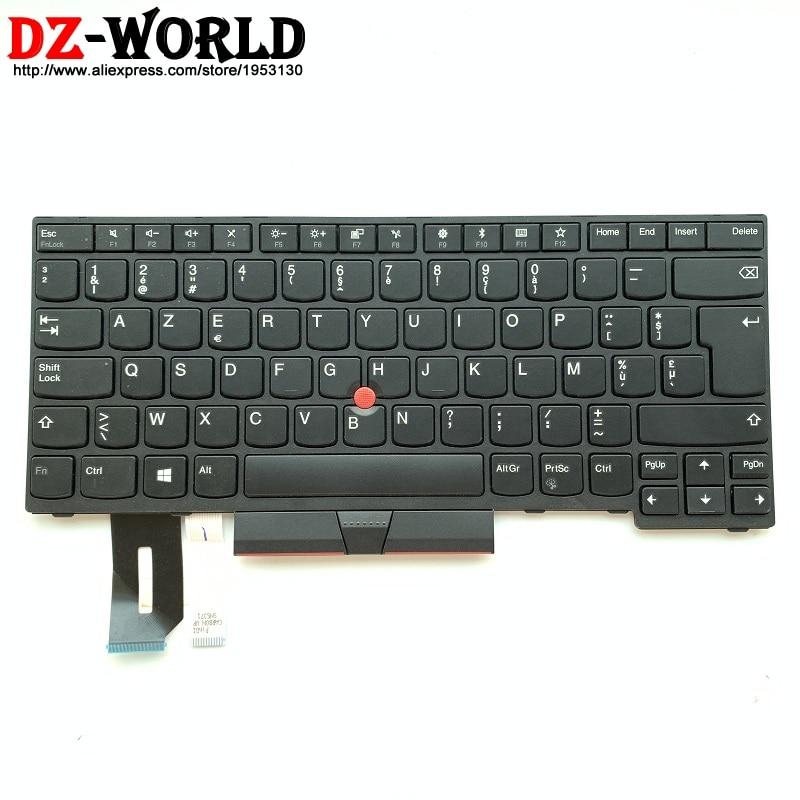 New Original Belgian Keyboard for Lenovo Thinkpad E480 E490 T480S L480 T490 T495 L390 L380 Yoga L490 P43s Laptop