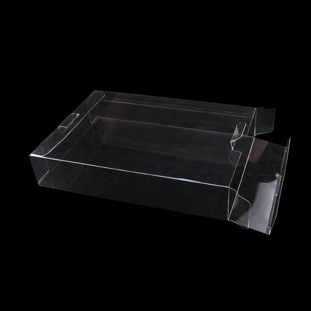 YGCDO изготовленная на заказ прозрачная коробка из ПЭТ Pro протекторы чехол для игры Чехлы для SNES N64 CIB в коробке игры