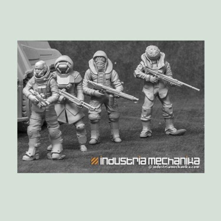 1/35 Shock Troopers Toninha, Soldado Modelo de Resina GK, Desmontado e sem pintura kit