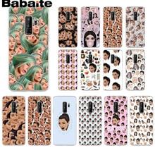 Babaite Kimoji Kim Kardashian kanye west norte kylie jenne Caixa Do Telefone Para Samsung Galaxy s9 s7 s8 plus note8 note9 s6 Casos