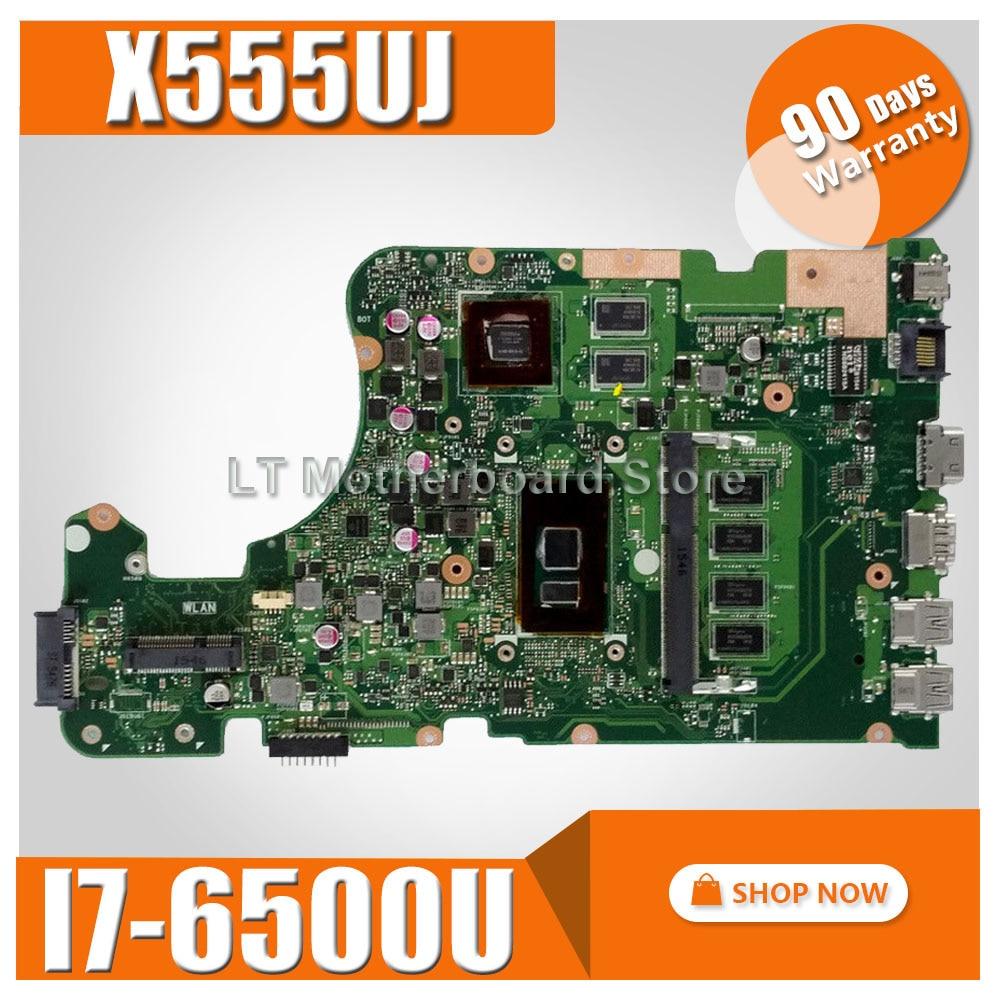 4G RAM I7-6500U x555UJ motherboard Para For Asus X555U x555UJ X555UB X555UQ laptop motherboard x555UJmainboard x555UJ motherboard