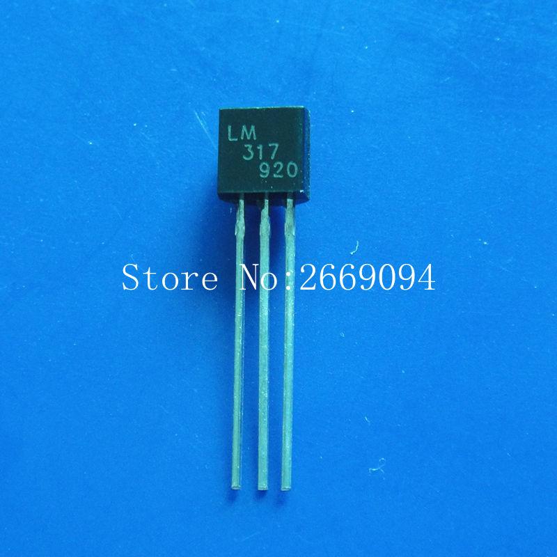 20 piezas LM317 TO92 LM317LZ regulador de voltaje 1,2 V-37 V 100mA 0.1A a 92 nuevo y original envío gratis