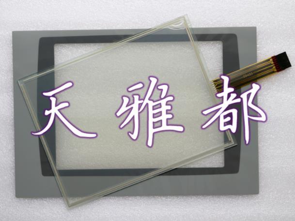 محول الأرقام بشاشة تعمل بلمس ألين برادلي بانلفيو بلس 1000 2711P-RDT10C لوحة اللمس الزجاج مع تراكب (طبقة رقيقة واقية)
