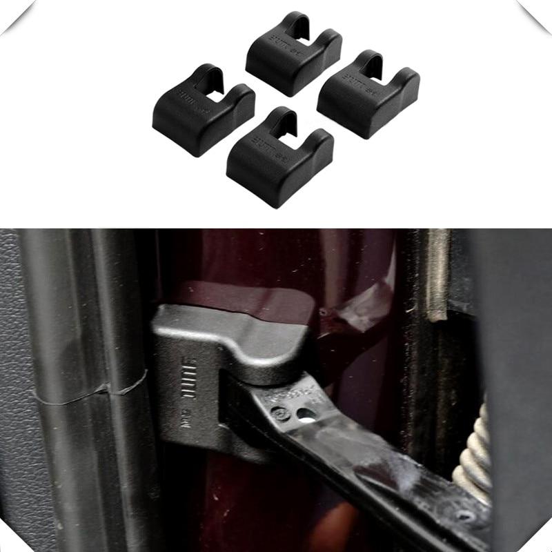 Fit for Volkswagen Passat B8 Variant 2015-2018 Car Accessories Plastic Black Door Lock Waterproof Protector Cap Trim 4pcs