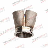 4-1 4 Cylinder Manifold Header Merge Collector Stainless Steel 3 V-Band Vband