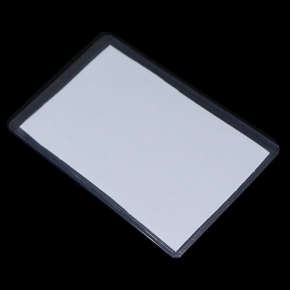 Protection des cartes didentité en plastique   200 pièces 6*9.6cm mat Transparent, protection des cartes de crédit du soutien, manches transparentes anti-poussière
