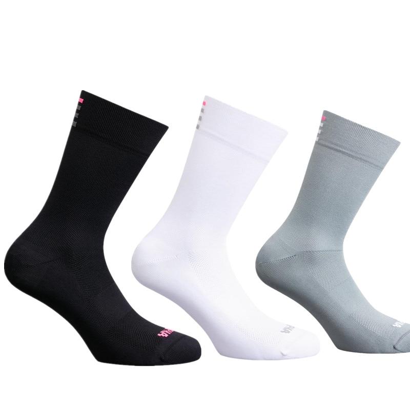 Новые высококачественные профессиональные спортивные носки для шоссейного велосипеда Rapha дышащие уличные велосипедные гоночные велосипедные носки
