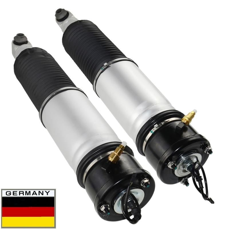 AP03 2 قطعة الهواء تعليق صدمة امتصاص الهواء تعليق تبختر مع EDC ل BMW E65 E66 E67 745i 750i 760i 745l 37126785535