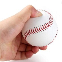 "9 ""Handmade Baseballs PVC Oberen Gummi Innere Weiche Baseball Bälle Softball hardBall Training Übung Baseball Ball Hohe qualität"