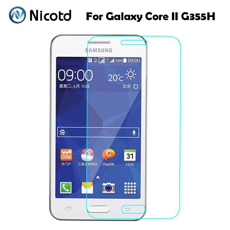 Защитная пленка из закаленного стекла для Samsung Galaxy Core 2, защита экрана от царапин на Core2 G355h, sm-g355h, Sm-G355HN
