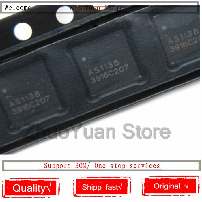 1 unids/lote AS1138 QFN20 nueva y Original IC Ethernet Chip