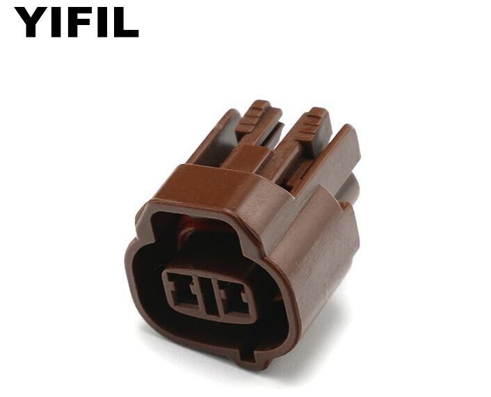 5/10/20 unids/lote 2 clavijas/vías conector hembra de sensor de temperatura del agua enchufe para Toyota Mazda 6189-0033 Sumitomo MT 2,3mm (090)