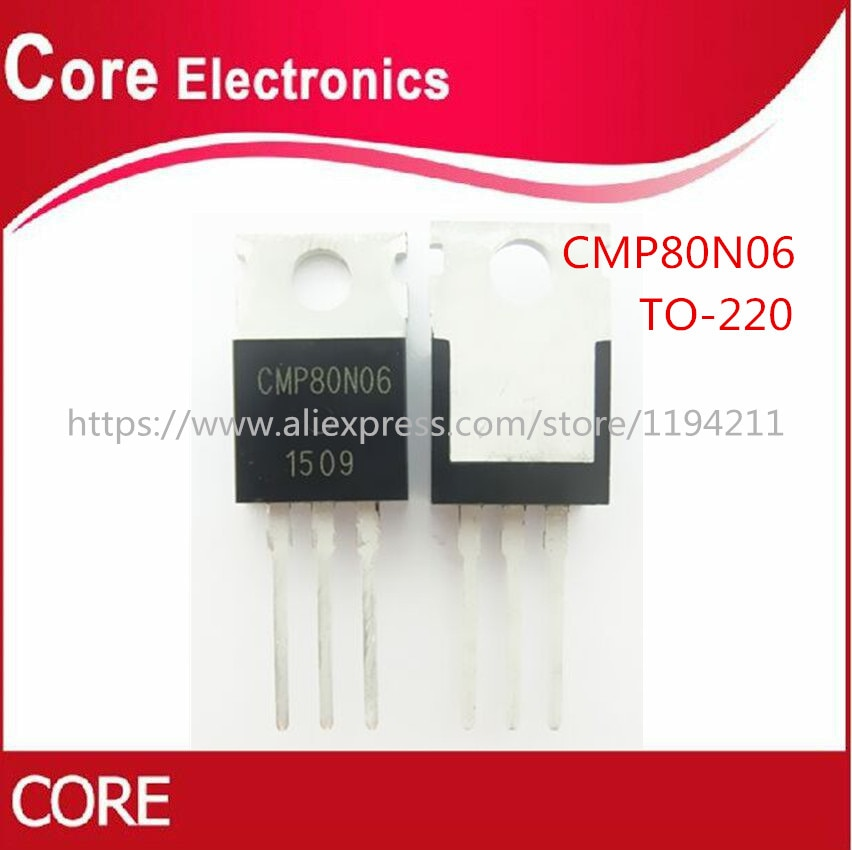 100 teile/los CMP80N06 80N06 80A 60V ZU-220 IC Beste qualität