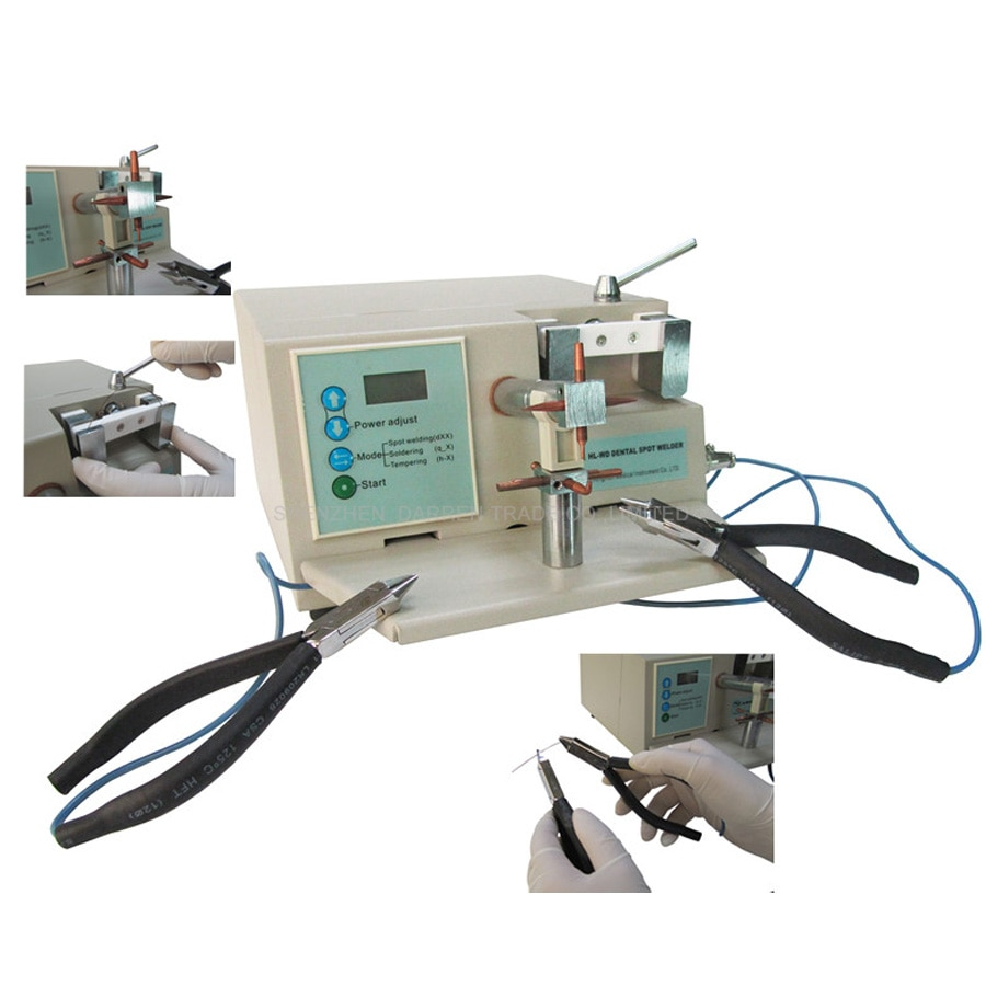 HL-WD 3 abrazaderas manuales de la máquina de soldadura por puntos para hacer Micro ajustar HL-WD III, nueva marca de alta calidad