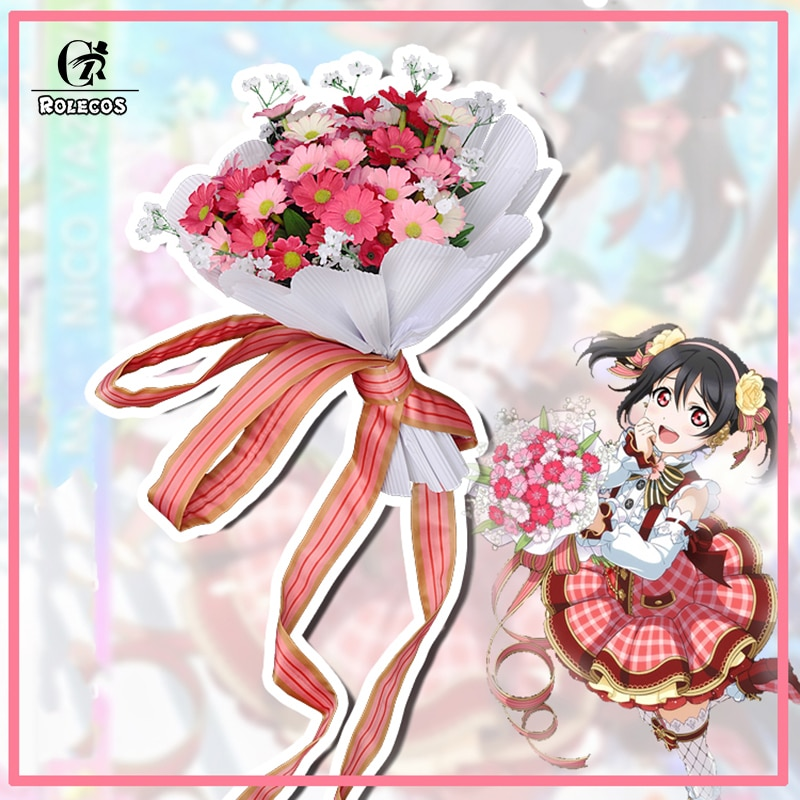 ROLECOS Love Live в японском стиле! Карнавальный костюм, букет цветов, костюм для косплея