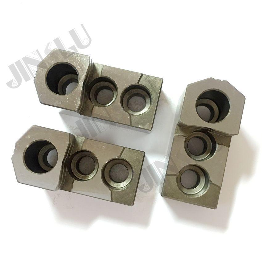 Mandíbulas duras HJ (serie HJ) para mandriles hidráulicos HJ-06 un conjunto (3 mandíbulas)