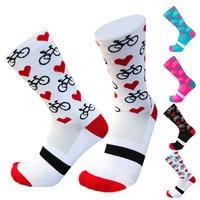 Носки компрессионные мужские/женские, цвет в ассортименте, 35-носки для горных велосипедов, 1 пара