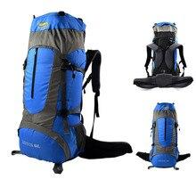 Sac à dos descalade désert et renard 60L pour hommes femmes sac de randonnée, sac de Sport de plein air résistant à la pluie léger sacs Trekking Daypack
