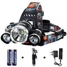 11000LM 높은 전원 LED 헤드 라이트 헤드 랜 턴 전조 등 18650 손전등이 마 캠핑 라이트 방수 램프 XML-T6 Led 토치