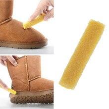Brosse à chaussures en Faux daim caoutchouc   Chaussures en gomme de caoutchouc Nubuck, outils de nettoyage des taches de cuir, bottes de neige
