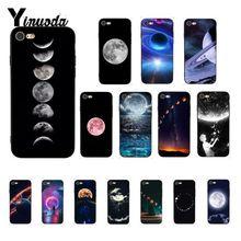 Yinuoda ciel espace planète lune étoiles conception Unique de luxe PhoneCase pour iPhone 8 7 6 6S 6plus X XS MAX 5 5S SE XR Fundas Capa