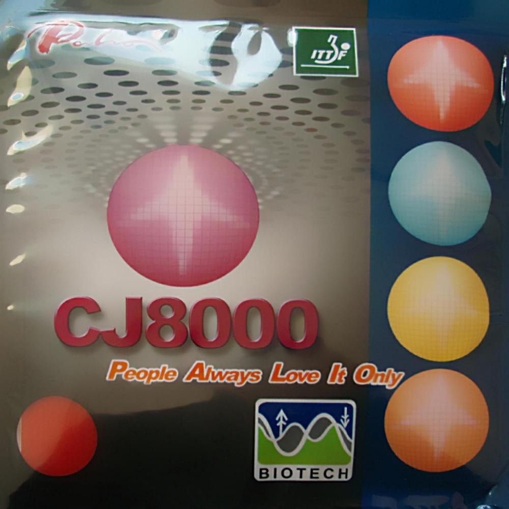 Palio CJ8000 BIOTECH 2-Side Loop Type pips-in table tennis rubber with sponge H36-38