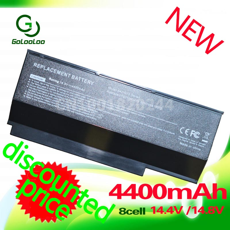 Golooloo 8 celdas de batería del ordenador portátil para ASUS A42-G73 G73S G53 G53J G53S G53SX G73G G53SW G73 G73J G73JH G73JW