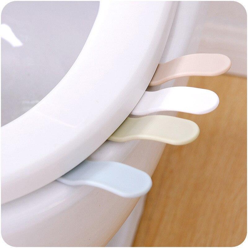 1 Uds. Elevadores de asientos de inodoro portátiles convenientes para el dispositivo de la tapa del inodoro se refiere al orinal del baño productos para el baño del hogar