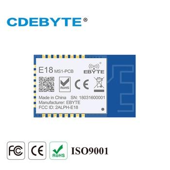 Module émetteur-récepteur sans fil Zigbee IO CC2530 E18-MS1-PCB Ghz 2.4 mW, antenne PCB IoT uhf, réseau maillé, Module émetteur-récepteur, 2.5