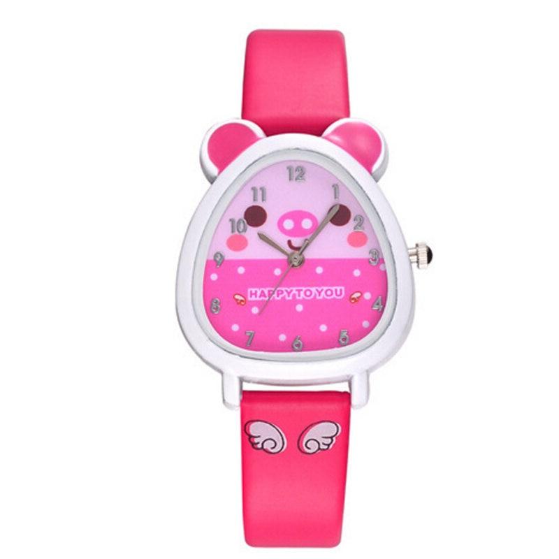 2020 Lovely Animal Design Boy Girl Children Quartz Watch Kid's Birthday Gift relogio infantil relogi