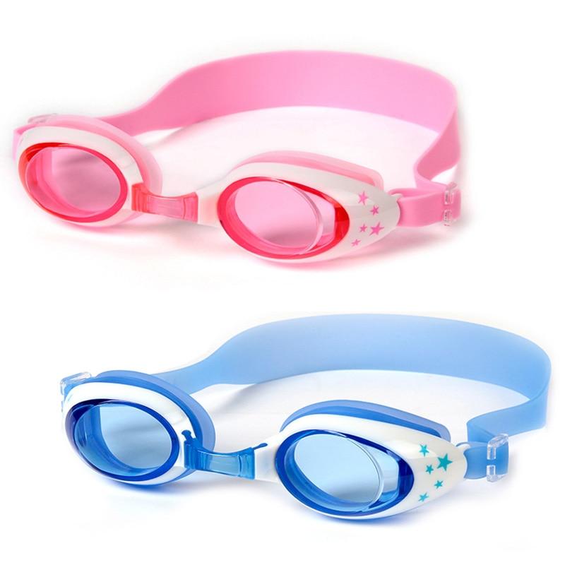 Детские плавательные очки для плавания анти туман водонепроницаемые защита от