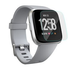 HD Tempered Glass LCD Screen Protector Film For Fit bit Versa Smartwatch Sporting Goods Accessories