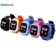 Wonlex GW100 MTK2503 LBS/GPS/Beidou/WIFI positionnement écran tactile téléphone intelligent enfants GPS montre enfants Tracker montre Anti-perte
