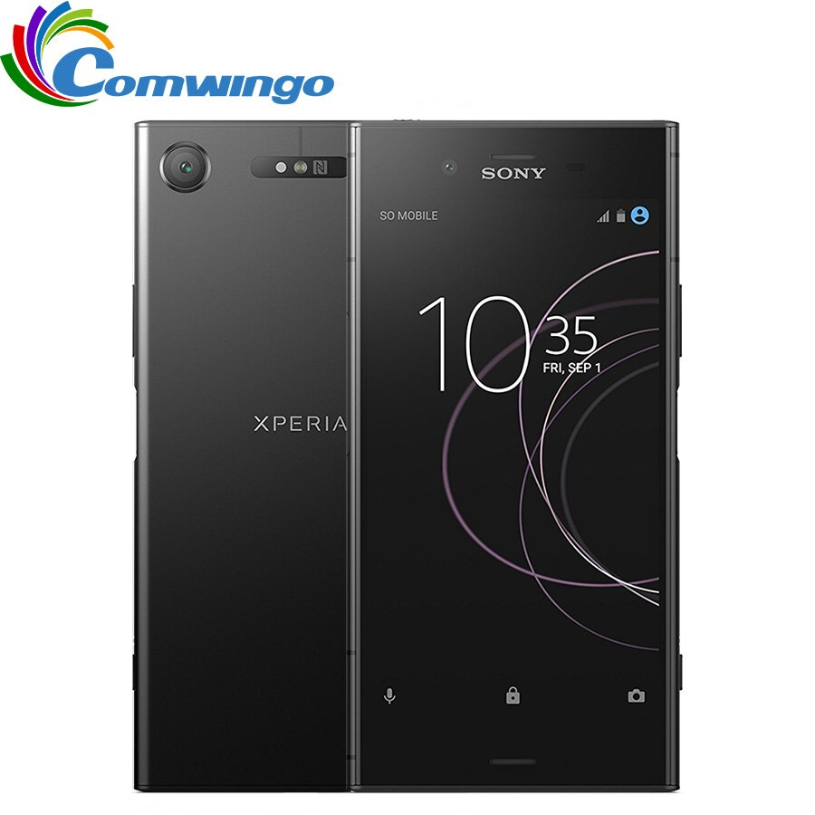 Original Sony Xperia XZ1 G8341 Japanese version 64G ROM 4G RAM 19MP Octa Core Single Sim Android 7.1 Quick Charge 3.0 Phone