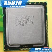 Процессор Intel Xeon X5670/2,93 ГГц/LGA1366/12 Мб кэш-памяти L3/шесть ядер/серверный процессор Бесплатная доставка