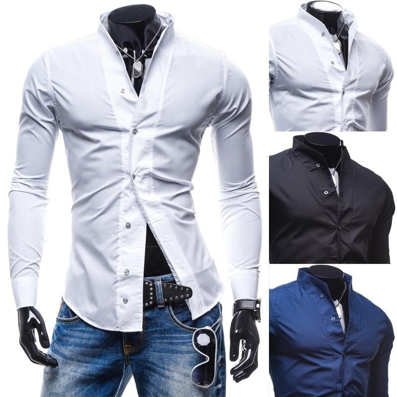 2018 Fashion Men Slim Fit Solic Color Casual Suit Blazer Coat Jacket Outwear Top business hot new