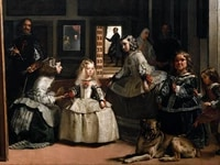 giant posters classical portrait canvas painting details from velazquez diego rodriguez the family of felipe iv or las meninas