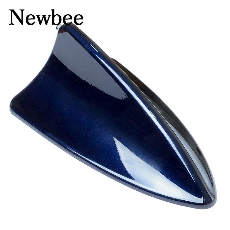 Универсальная автомобильная антенна Newbee, черная, синяя, серебристая, для BMW, Toyota, VW, Polo, ford, Kia, Honda