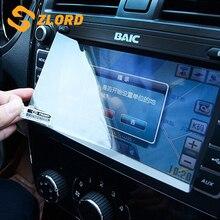 Zlord Film de protection décran voiture GPS Navigation verre trempé protecteur décran pour Honda HRV HR-V Vezel 2015 -2018 adhéores