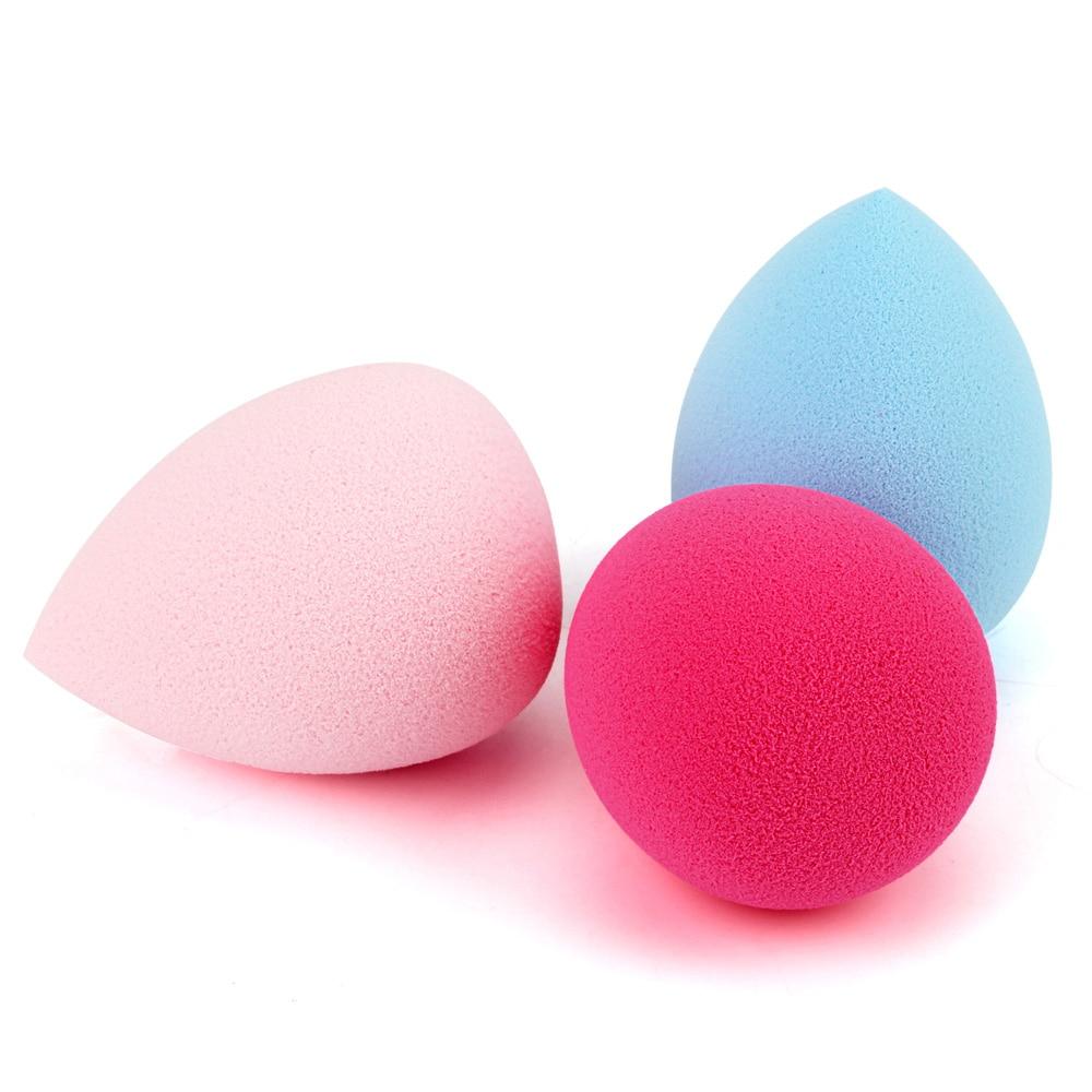 AGDOAD 1Pc Esponja de maquillaje belleza Esponja Maquiagem polvo de foudación maquillaje Esponja cosmética Puff agua gota forma herramientas de maquillaje