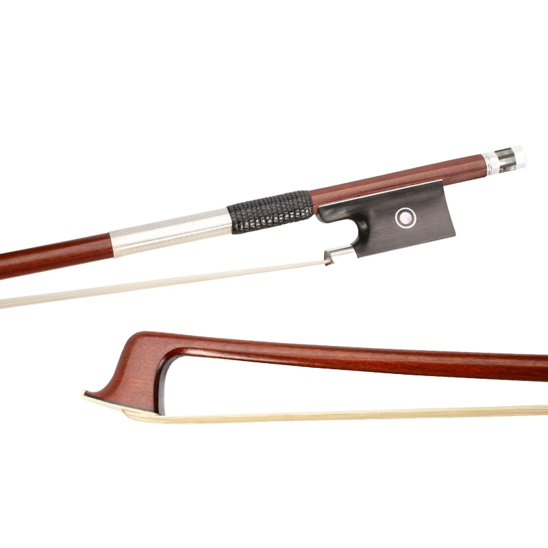 Modelo superior Brzail hematoxylin 4/4, arco de violín novo ébano Sapo violín, accesorio, envío gratis