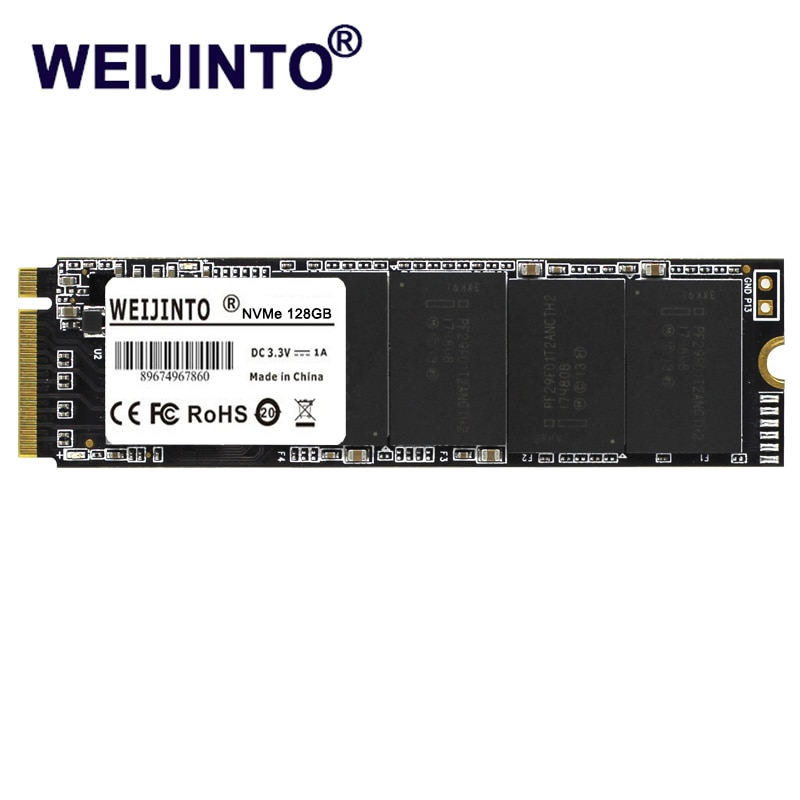 WEIJINTO M2 SSD M.2 PCIE SSD 240 GB NVME 2280 128GB 256GB 512GB 1 تيرا بايت القرص الداخلي 240 GB الحالة الصلبة محرك لأجهزة الكمبيوتر المحمول نتبووك