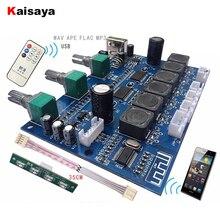 Плата звукового усилителя TPA3118, сабвуфер, 2X30W + 60 Вт, Hi Fi, 2,1 канала, Bluetooth 4,2, цифровой усилитель с пультом дистанционного управления U Disk, с пультом дистанционного управления, с пультом дистанционного управления, для