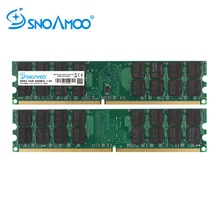 SNOAMOO RAM Per AMD Desktop di PC RAMs DDR2 4 gb di RAM 800 mhz PC2-6400S 667 mhz 240-Spille 1.8 v DIMM Per AMD Memoria Del Computer di Garanzia