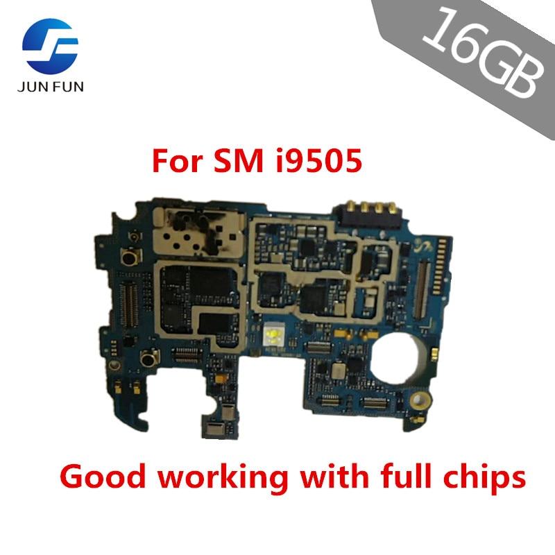 Joun FUN para Samsung Galaxy S4 i9505 placa madre 16GB versión europea desbloqueado sistema lógico Android placa madre