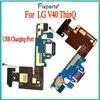 Pour LG V40 ThinQ USB Port de charge pour chargeur Port Dock prise connecteur carte pour LG V40 ThinQ V405 carte connectée câble flexible