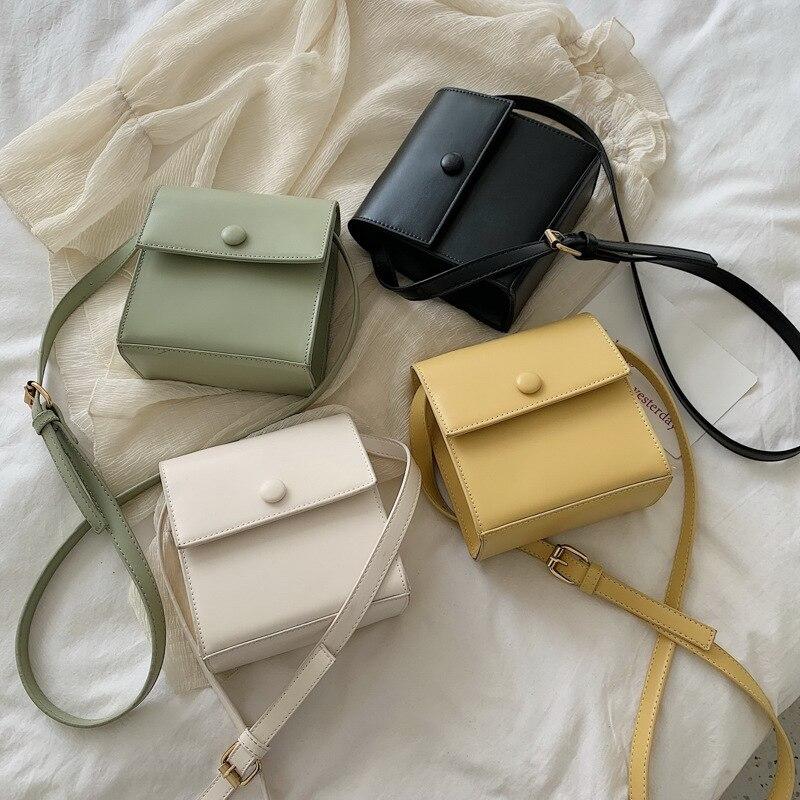 Bolso de Color caramelo, bolso de lujo de alta calidad, bolsos de marca 2019, bolsas de mensajero de hombro cruzadas, bolso cruzado para mujer, Bolsa femenina
