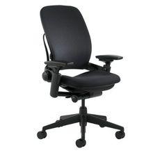 Steelcase chaise bissextile, V2-boîte ouverte-tissu noir entièrement chargé