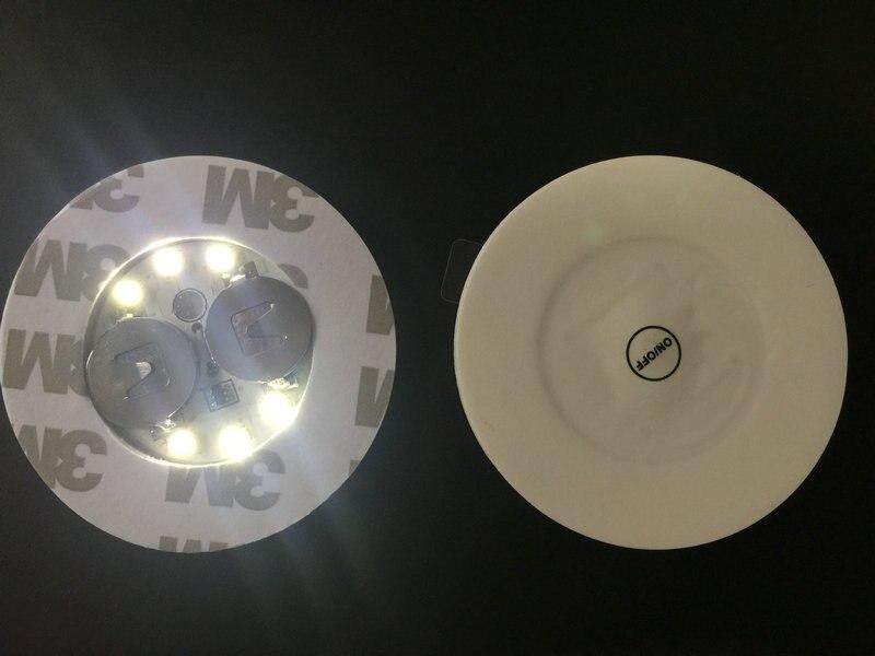 20 unids/lote Super brillante 3mm 6LED Flash de luz para botella posavasos LED glorificador mini glow stick para Clubs bares fiesta-blanco
